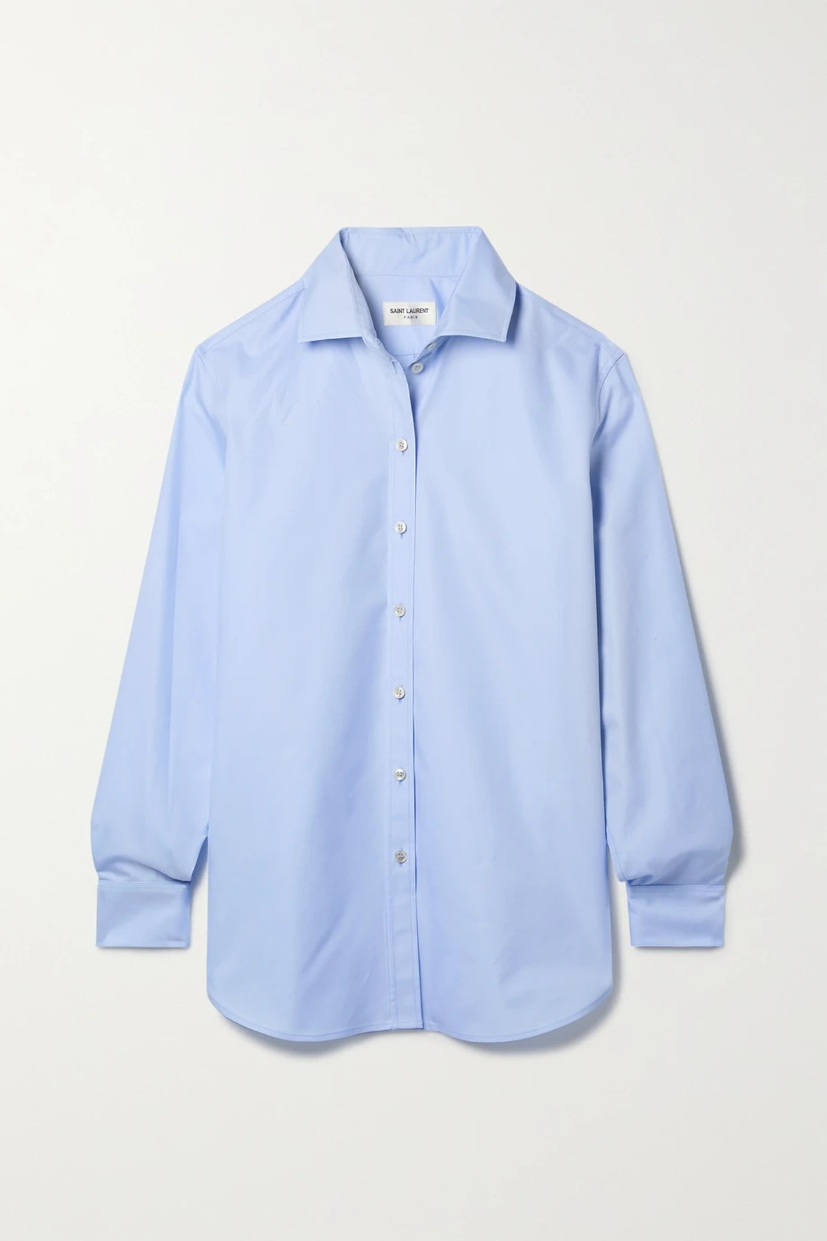 Cotton-twill shirt from Saint Laurent, available on Net-a-Porter.