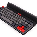 Epomaker NT68 wireless Bluetooth mechanical keyboard with case stand promo image