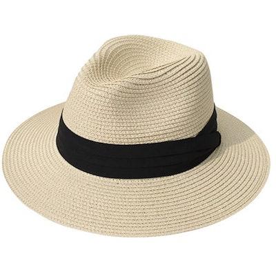 Lanzom Women Wide Brim Sun Hat