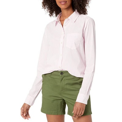 Amazon Essentials Classic-Fit Long Sleeve Button Down