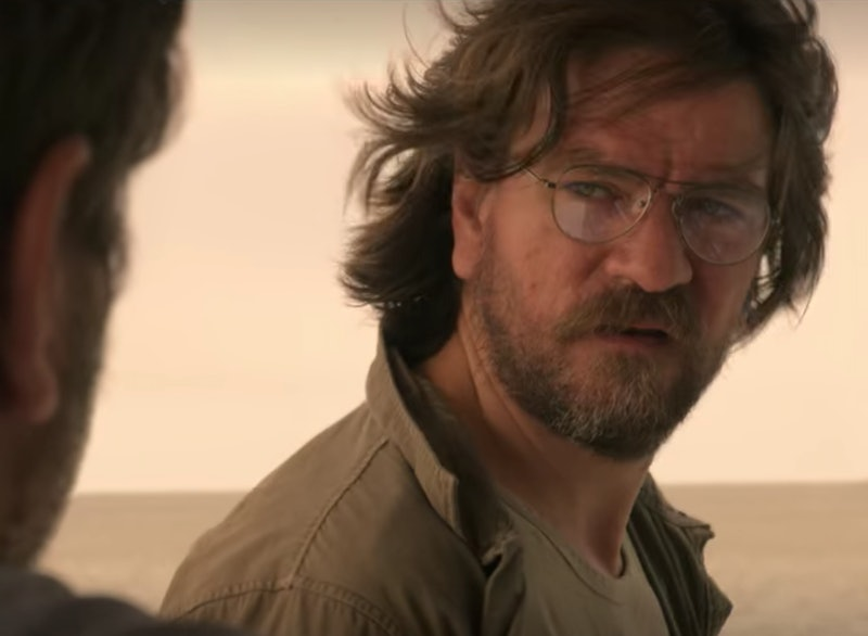 Big John speaks to Ward in 'Outer Banks' Season 1.