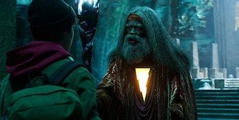 Djimon Hounsou as the Wizard in Shazam!