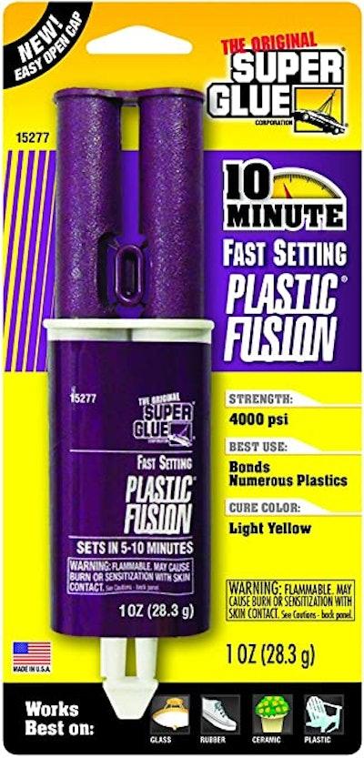 Super Glue Plastic Fusion Epoxy Adhesive