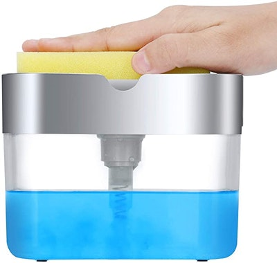 LIFEEZY 2 in1 Dish Soap Dispenser