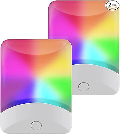 GE Color-Changing LED Night Light (2-Pack)