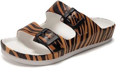 FUNKYMONKEY Double Buckle Sandals