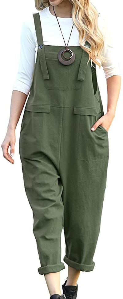 YESNO Casual Baggy Overalls