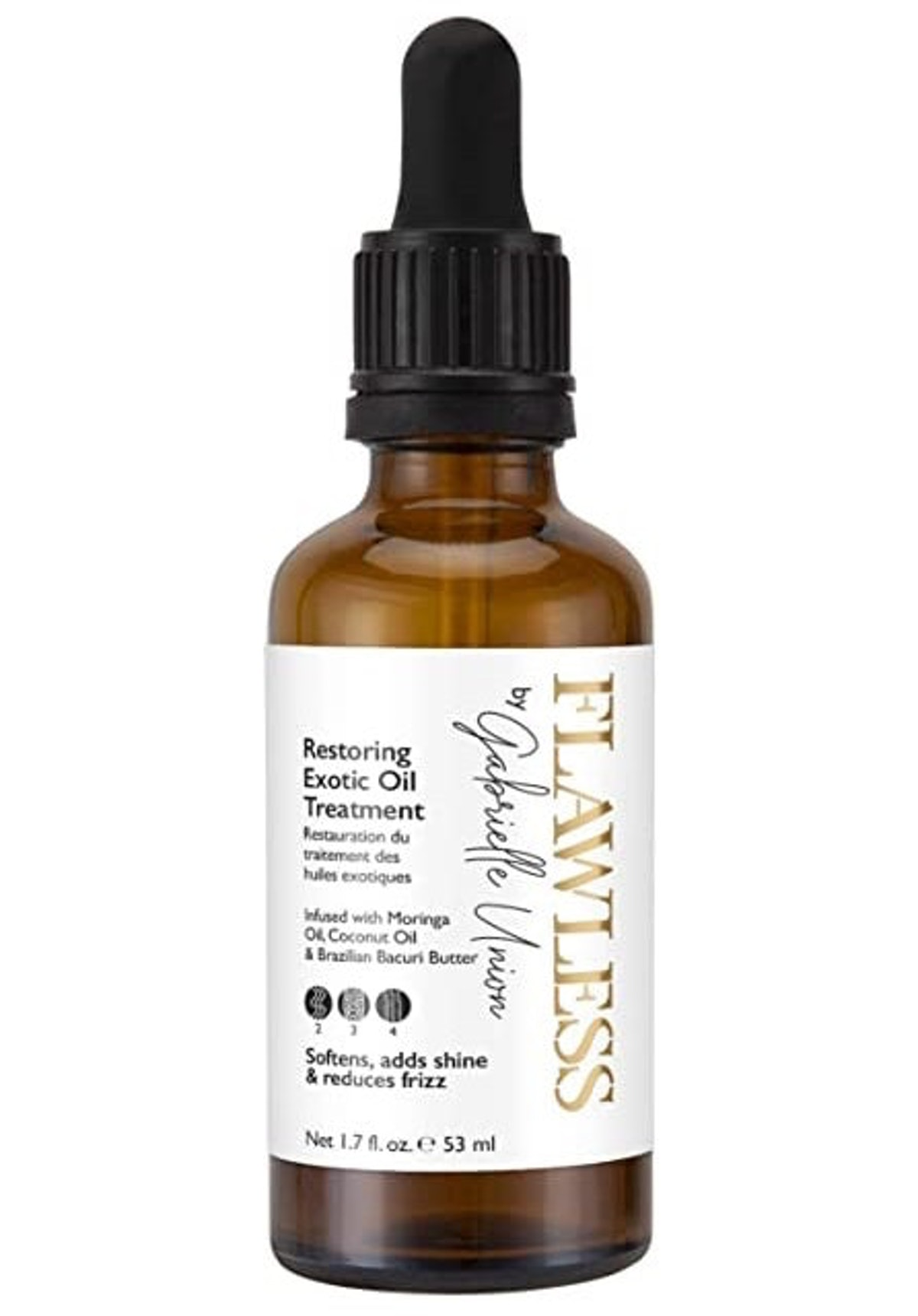 Flawless by Gabrielle Union Curly Hair Oil