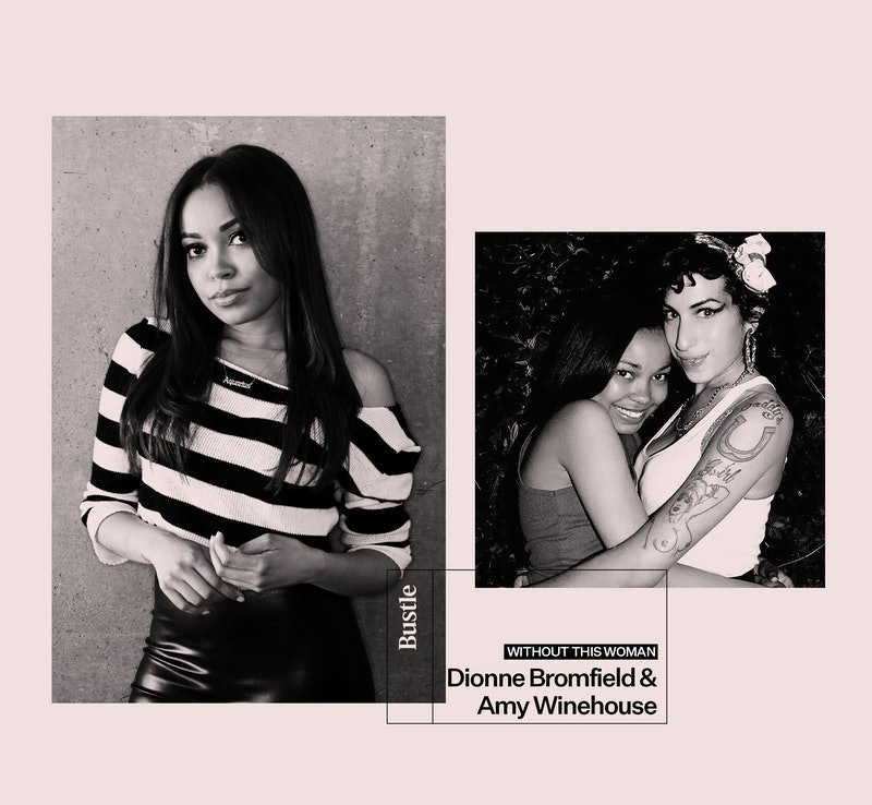 Dionne Bromfield and Amy Winehouse