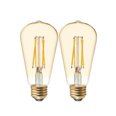 GE Vintage Edison Bulbs (2-Pack)