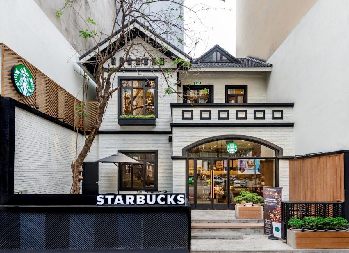 This Starbucks store in Hanoi, Vietnam is so Instagram-worthy.