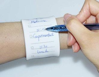 NEWYES Reusable Memo Wristband