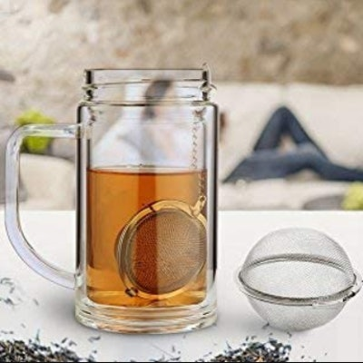 Fu Store Stainless Steel Mesh Tea Ball (2-Pack)