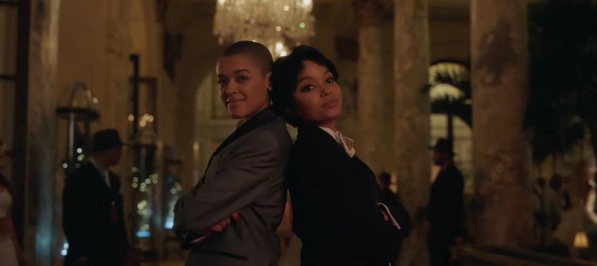 """Julien and Zoya in the """"Gossip Girl' Season 1, Episode 5 promo."""