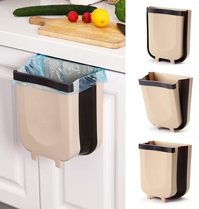 SheMarie Hanging Collapsible Trash Can