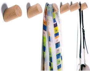 Felidio Store Wood Hooks (2-Pack)