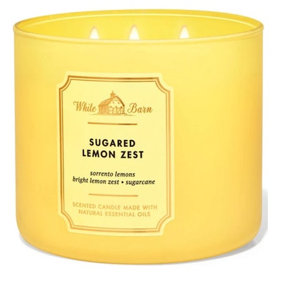 White Barn Sugared Lemon Zest 3-Wick Candle