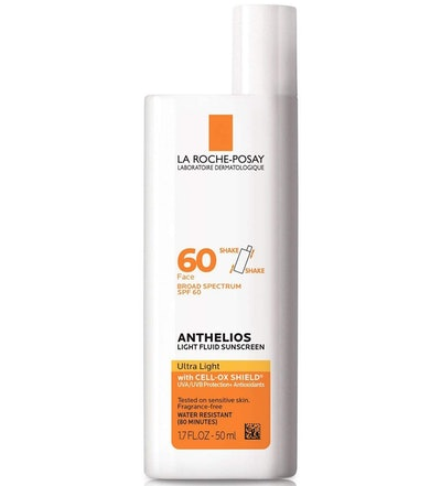 La Roche-Posay Anthelios Light Fluid Face Sunscreen Broad Spectrum SPF 60