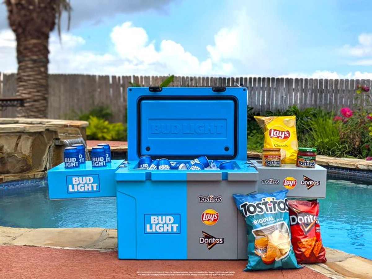 How to enter Bud Light's free beer and cooler sweepstakes in July 2021.