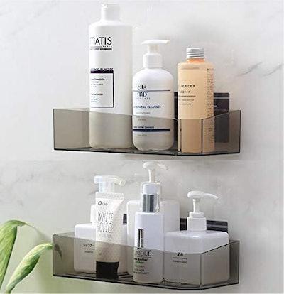 Cq Acrylic Bathroom Shower Shelf (Set of 2)