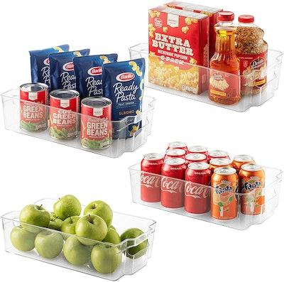 Seseno Refrigerator Organizer Bins (Set of 10)