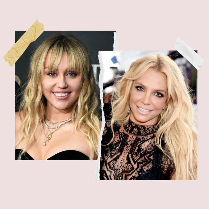 Miley Cyrus and Britney Spears