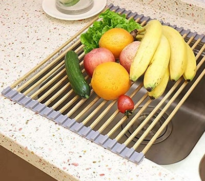 Freshmage Roll-Up Dish Drying Rack