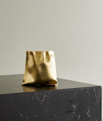 Small Gold-tone Vessel