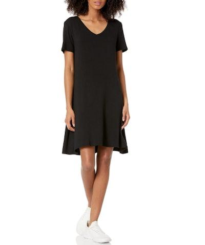 Amazon Essentials V-Neck Swing Dress