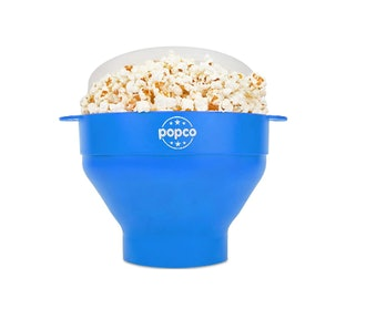 The Original Popco Silicone Microwave Popcorn Popper