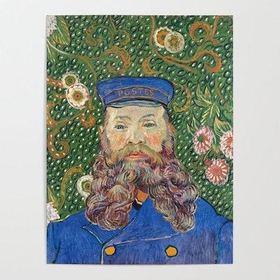 Portrait of the Postman by Vincent van Gogh Poster