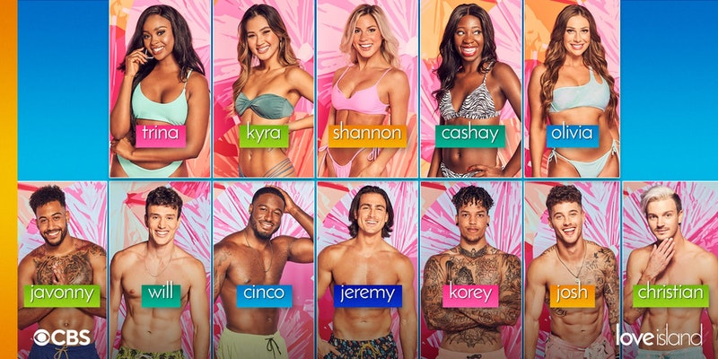 The 'Love Island' USA Season 3 cast