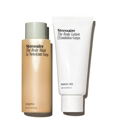Necessaire Full Size The Body Wash & The Body Lotion Set