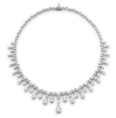 De Beers Assana Necklace 37.47 carats of diamonds in 18K White Gold