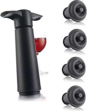 Vacu Vin Wine Saver Pump Set (5 Pieces)