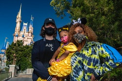 Tennis star Serena Williams recently visited Walt Disney World Resort in Lake Buena Vista, Fla. on a family vacation, and enjoyed some time at Magic Kingdom Park with her husband, Alexis Ohanian, and their daughter, Olympia.