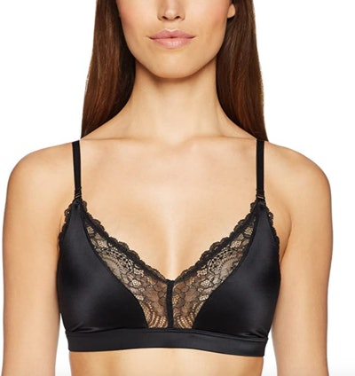 Mae Lace Trim Triangle Bralette With Convertible Straps