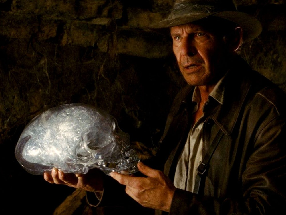 Indiana Jones and the Kingdom of the Crystal Skull alien