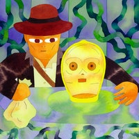 25 years ago, Indiana Jones met C-3PO in a game no one remembers