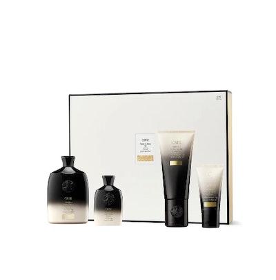 Oribe Home & Away Gold Lust Repair & Restore Shampoo & Conditioner Set