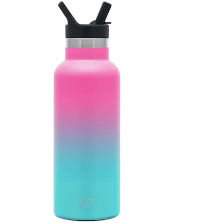 Simple Modern Stainless Steel Water Bottle With Straw Lid (17 Oz.)