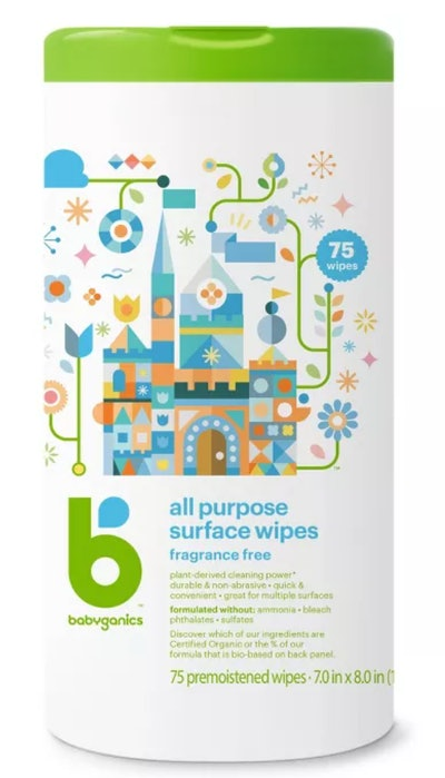 Babyganics All Purpose Surface Wipes - 75ct