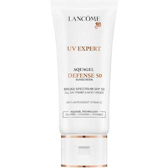 UV Expert Aquagel Defense Sunscreen, Primer & Moisturizer SPF 50