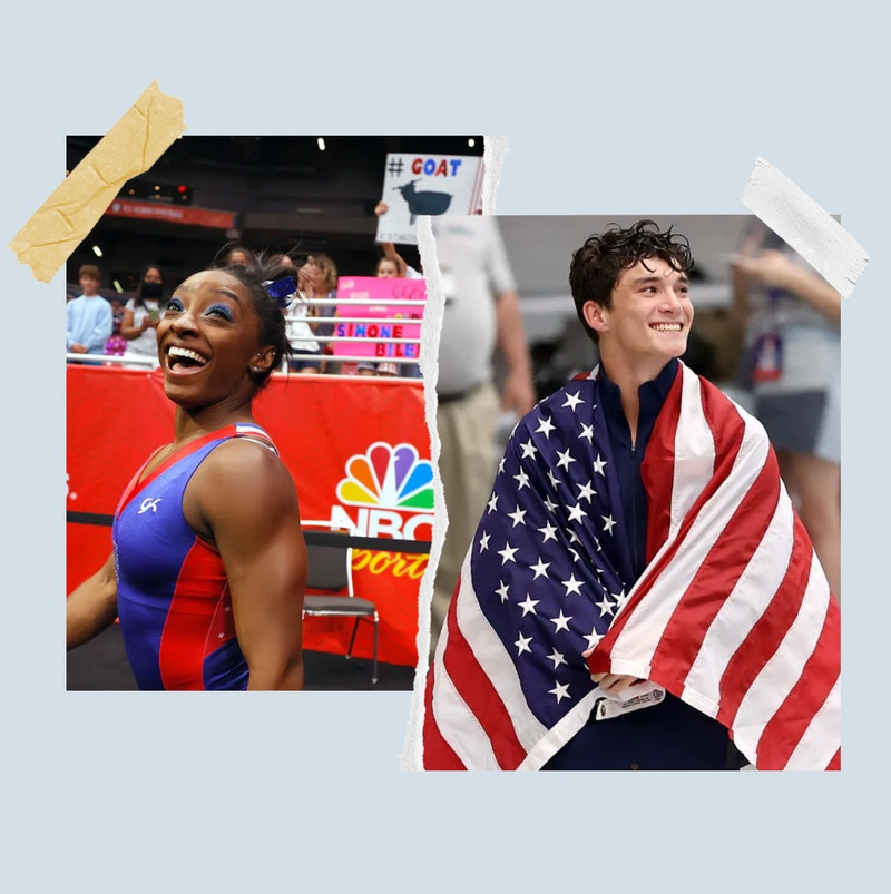Gymnast Simone Biles and Diver Tyler Downs