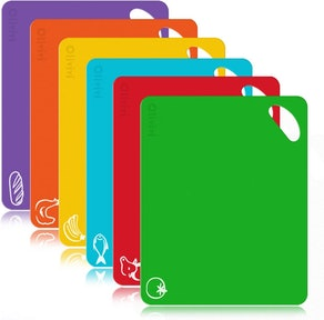Olivivi Color-Coded Cutting Mats (6-Pack)