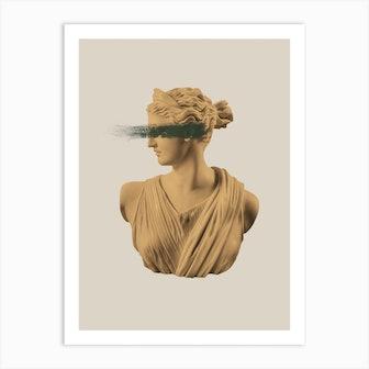 Gold Goddess Art Print