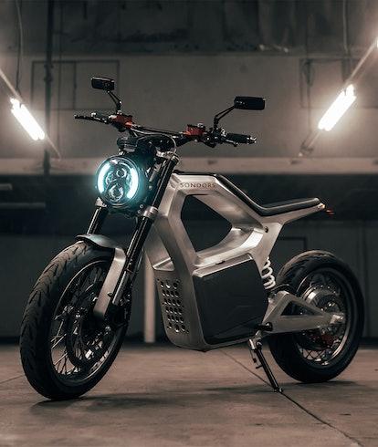 Sondors Metacycle electric motorcycle. EV. EVs. E-motorcycle. E-bikes. EVs. Electric vehicles.
