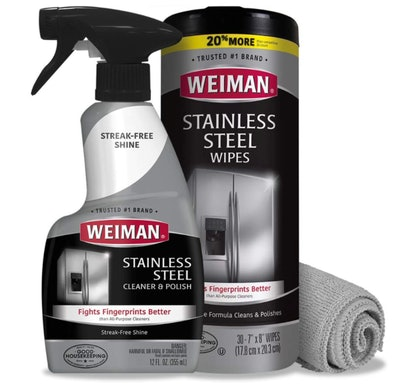 Weiman Stainless Steel Cleaner Kit (3 Pieces)