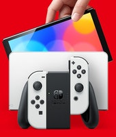 Nintendo Switch (OLED model) with upgraded specs