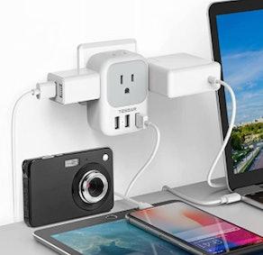 TESSAN Multi-Plug Outlet Extender